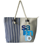BORSA RIGHE SALENTO COLOR BLU